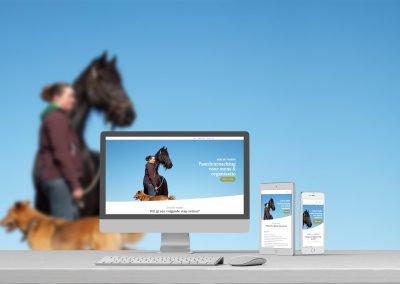Jaeike met paarden